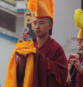 Red Robed Monk
